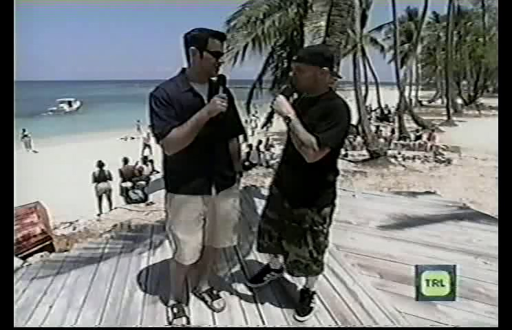 Limp Bizkit 1999-05-31 MTVs TRL Blow Up The Boat BBQ, Miami, FL, USA (Version 2)